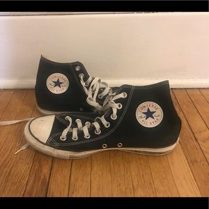 High Top Converse Unisex Shoes
